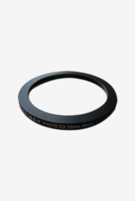 HeavyStar 55-46mm Dedicated Metal Step Down Ring (Black)