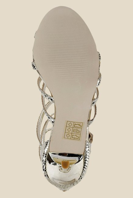 Mochi Golden Gladiator Sandals