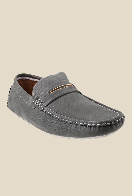 Mochi Grey Casual Loafers