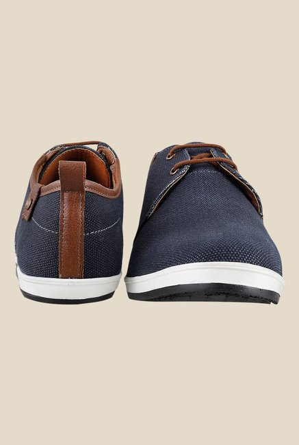 Gen X by Mochi Navy & Brown Sneakers