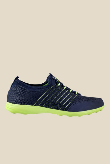 Mochi Navy & Green Sneakers
