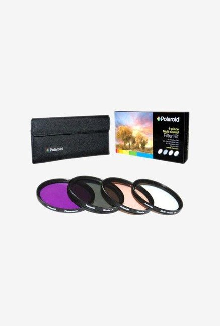 Polaroid PL-4FIL-37 37mm 4 Piece Filter Set