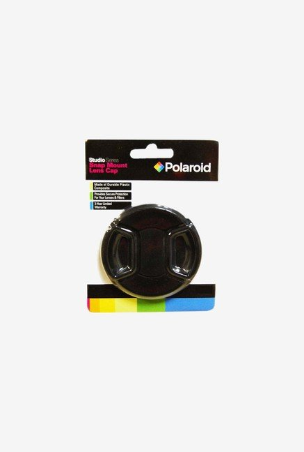 Polaroid PL-LC77 Studio Series Snap Mount Lens Cap (Black)