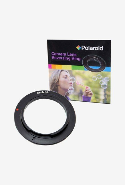 Polaroid 58mm Filter Thread Lens Macro Reverse Ring Adapter