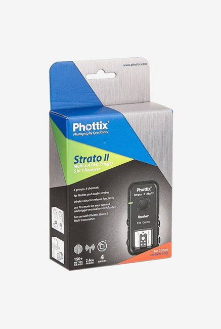 Phottix Stratos II Multi 5-In-1 Canon Receiver (Black)