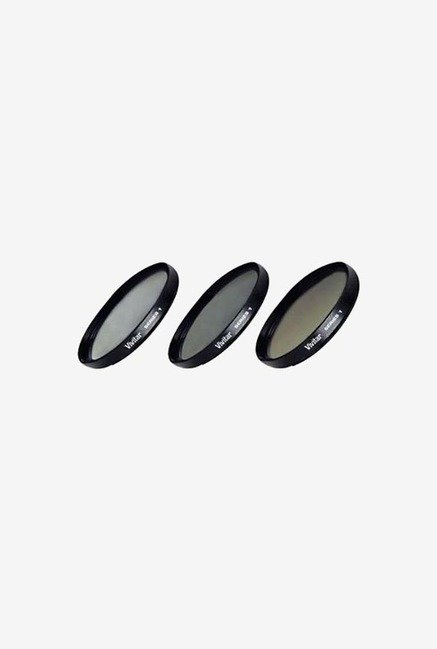 Vivitar 52mm 3 PCs Filter Kit (Black)