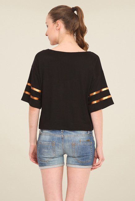 Saiesta Black Solid Top