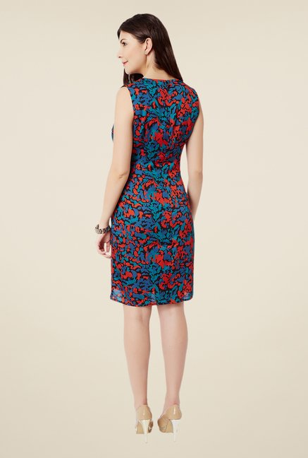 Avirate Multicolor Graphic Printed Dress