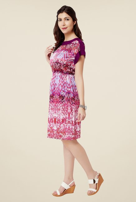 Avirate Pink Blouson Dress