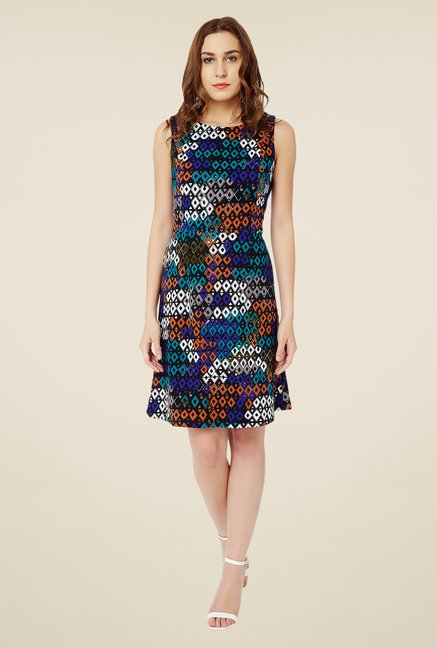 Avirate Multicolor Shift Dress