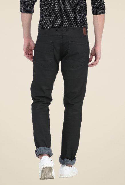 Basics Black Raw Denim Jeans