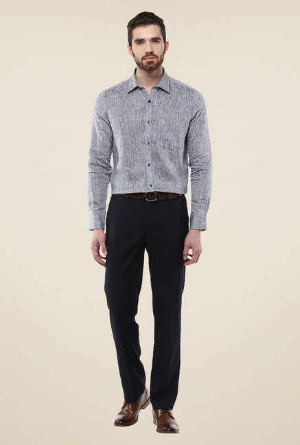 Turtle Grey Linen Shirt