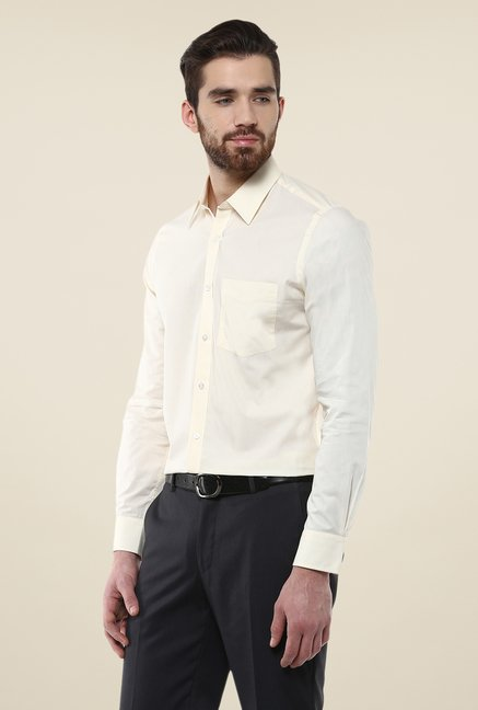 Turtle Beige Solid Shirt