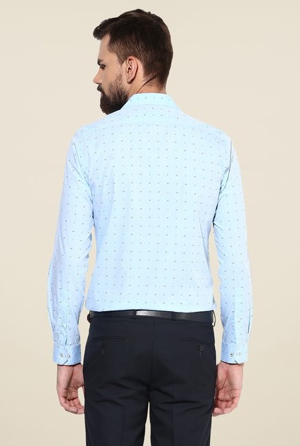 Turtle Sky Blue Printed Shirt