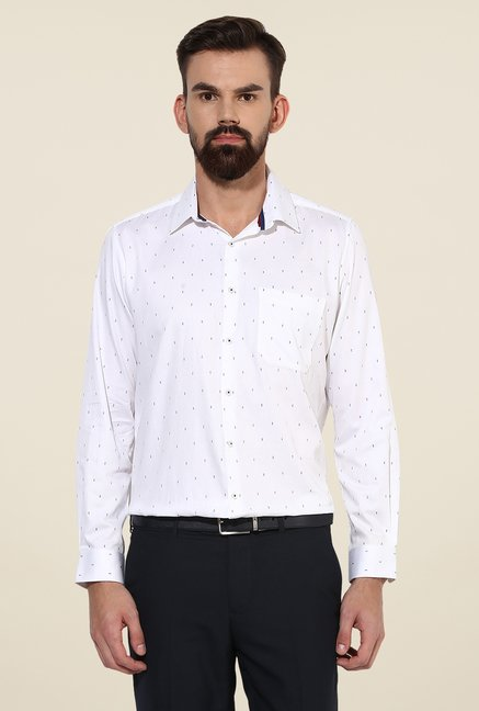 Turtle White Printed Shirt