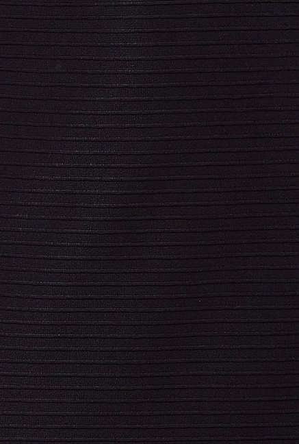 Avirate Black Striped Skirt