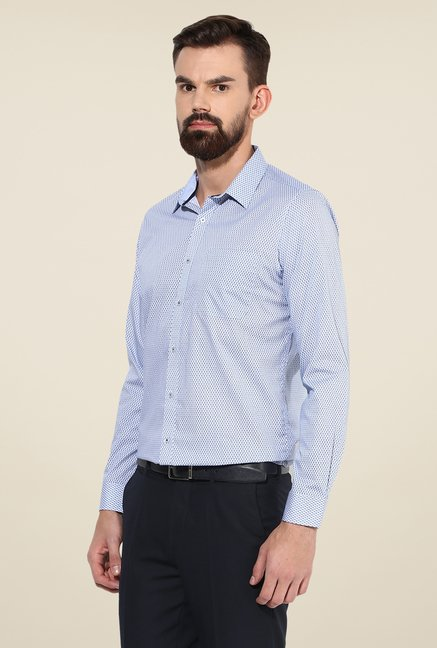 Turtle Blue Printed Shirt