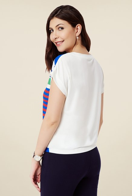 Avirate Multicolor Striped Top