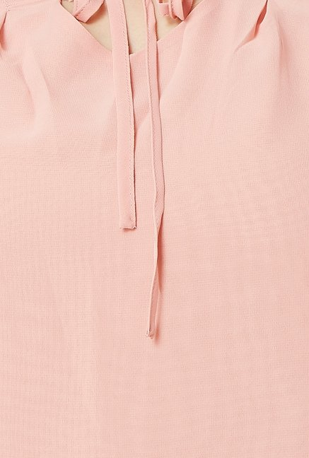 Avirate Light Pink Solid Top