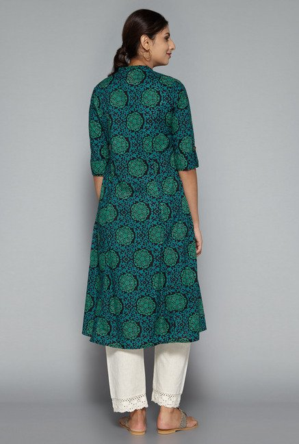 Utsa by Westside Multicolor Printed Kurta