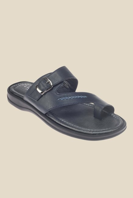 Khadim's Lazard Navy Casual Sandals