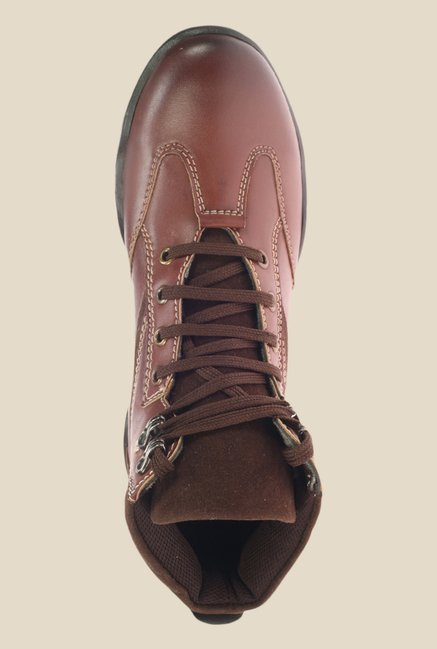 Khadim's Turk Brown Casual Boots