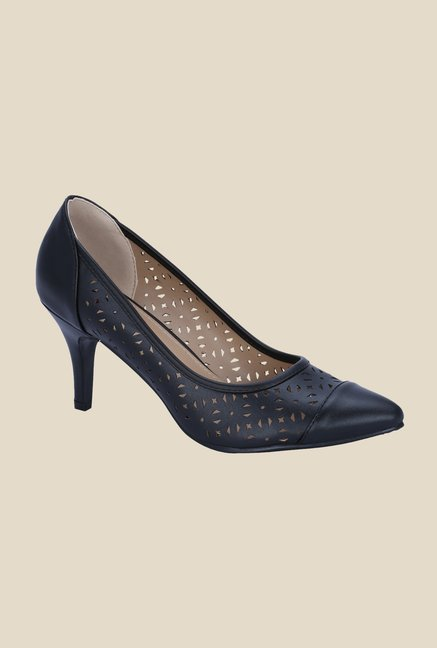 Get Glamr Frida Black Pumps