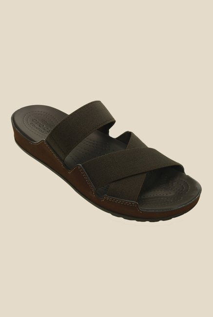 Crocs Anna Espresso Casual Sandals