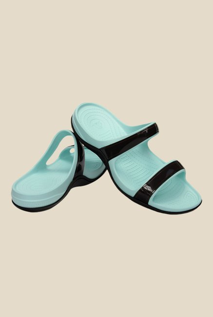 Crocs Patra II Espresso & Sea Foam Casual Sandals