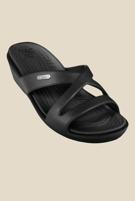 Crocs Patricia II Black Casual Sandals