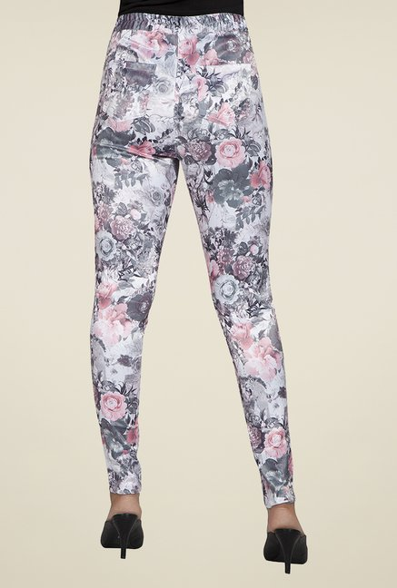 Desi Belle Multicolor Floral Jeggings