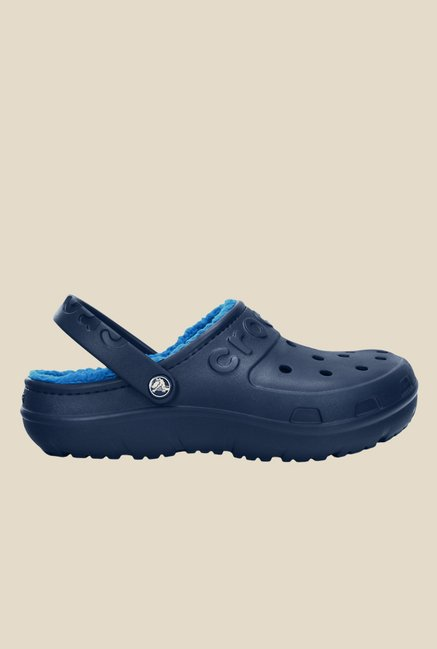 Crocs Hilo Lined Navy & Ocean Clogs