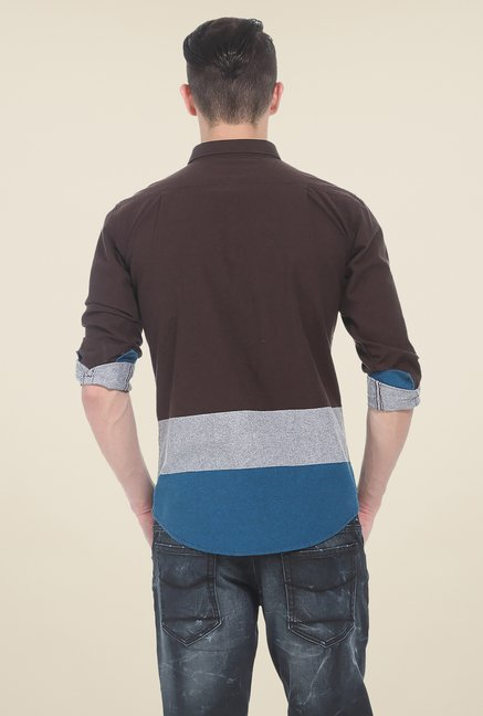 Basics Multicolor Solid Shirt