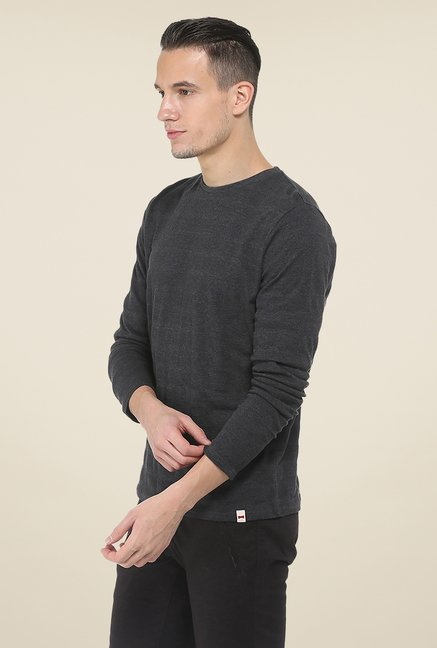 Basics Black Crew T Shirt