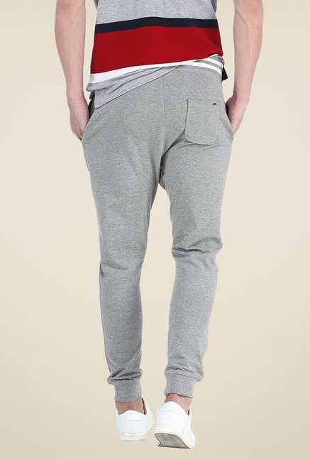 Basics Grey Textured Joggers