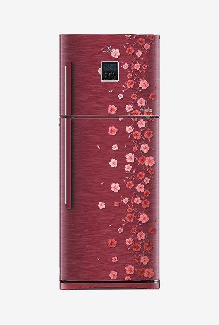 Videocon 330 L Frost Free Double Door 3 Star Refrigerator (VZ343PECVB, Scarlet Vine)