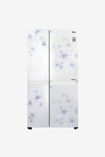 LG GC-B247SCUV 687 L Refrigerator (Daffodil White)