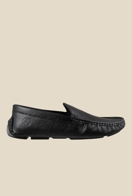 Mochi Black Formal Loafers