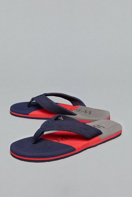 Westsport by Westside Navy Thong Flip Flops