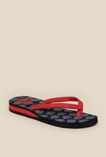 Zudio Red Thong Flip Flops