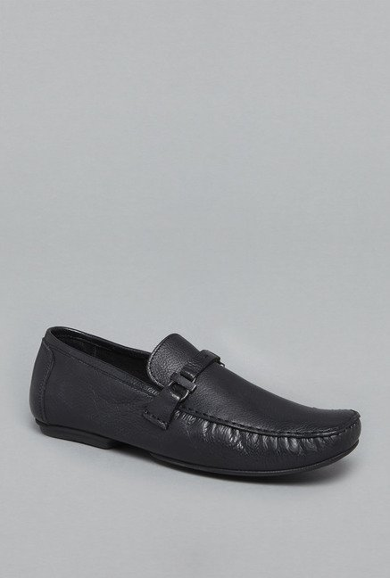 David Jones by Westside Black Loafer Shoes