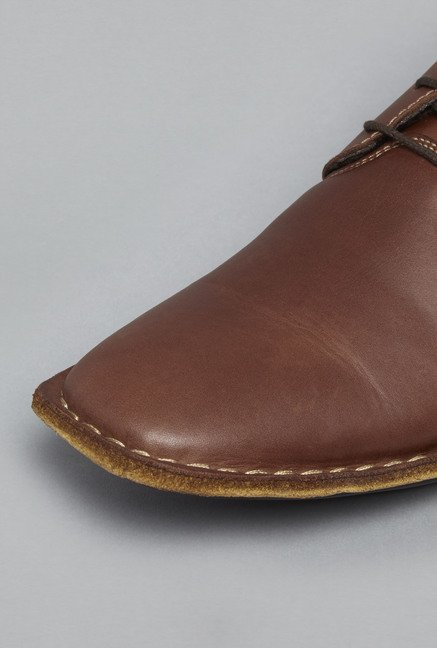 David Jones by Westside Brown Lace Up Shoes