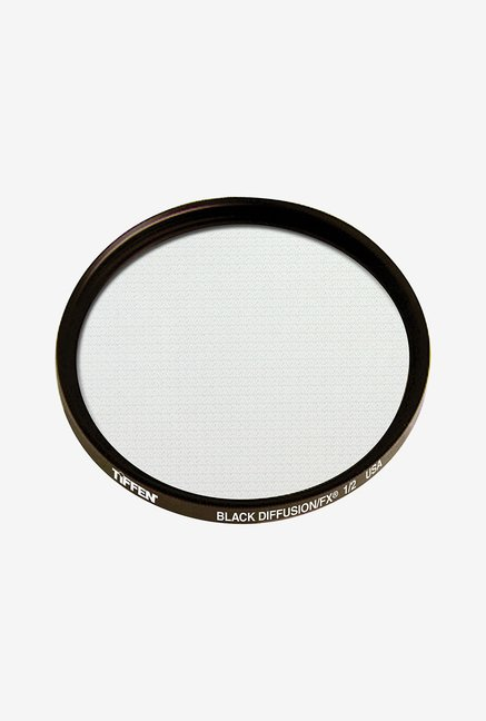 Tiffen 58mm Black Diffusion/FX 1/2 Filter (Black)