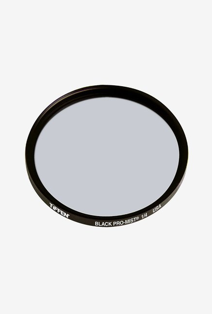 Tiffen 62mm Black Pro Mist 1/4 Filter (Black)