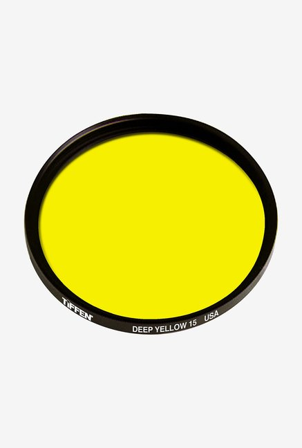 Tiffen 52mm Filter (Yellow 15)