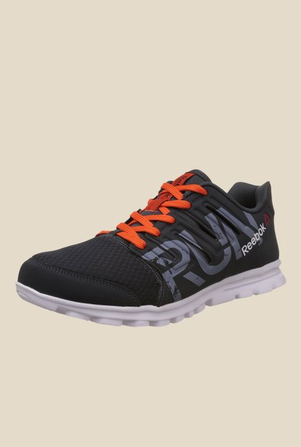 Reebok Ultra Speed Grey & Orange Running Shoes