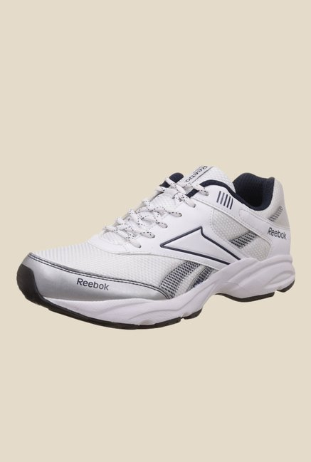 Reebok Exclusive Runner 3.0 White & Navy Running Shoes