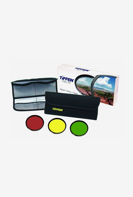 Tiffen 55mm Black & White Three Filter Kit (Black)