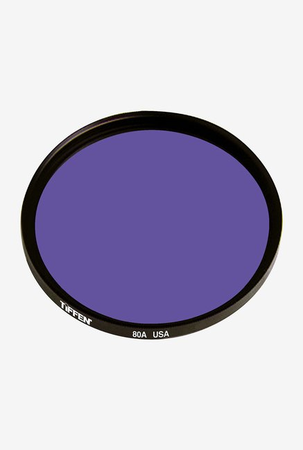 Tiffen 52mm 80A Color Conversion Filter (Black)
