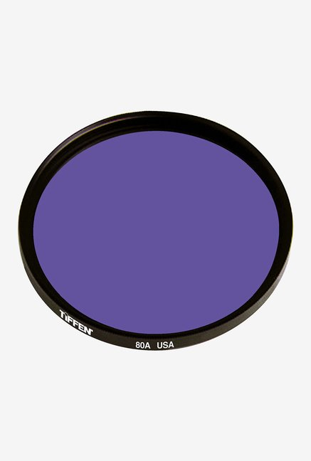 Tiffen 55mm 80A Color Conversion Filter (Black)